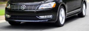 Задний бампер Volkswagen Passat B7 USA