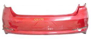 Оригинальный задний бампер для Соната ЛФ 14-18 красный