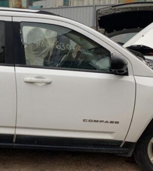 Дверь Jeep Compass 2011-2016 передняя правая белая USA (Америка)