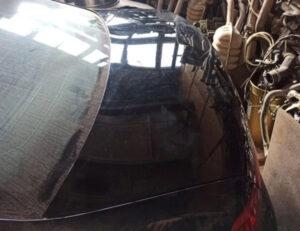 Крышка багажника ляда Volkswagen Passat B7 чёрная