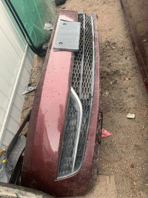 Передний бампер Volkswagen Passat B7 вишневый (Америка)