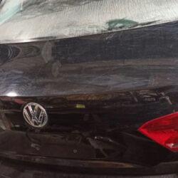Крышка багажника ляда Volkswagen Passat B7 чёрная USA (Америка)