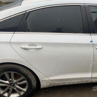 Дверь Hyundai Sonata LF 2014-2017 задняя правая белая USA (Америка)