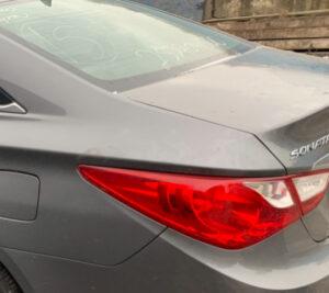 Крышка багажника Hyundai Sonata YF 2010-14 серая