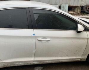 Дверь Hyundai Sonata LF передняя правая белая