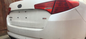 Крышка багажника Kia Optima 2010-14 белая