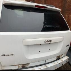 Крышка багажника ляда Jeep Compass 2010-2017 белая USA (Америка)