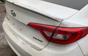 Крышка багажника Hyundai Sonata LF 2014-17 белая