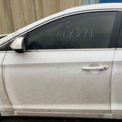 Дверь Hyundai Sonata LF 2014-2017 передняя левая белая USA (Америка)