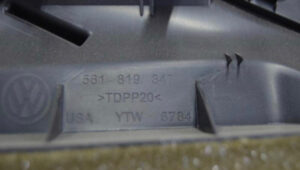 Воздуховод обогрева салона VW Passat B7 USA 10-14 561819347