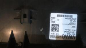 Блок комфорта VW Passat B7 USA 10-14 3C0959792B