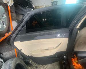 Дверь Hyundai Sonata LF Hybrid задняя левая 2015-17