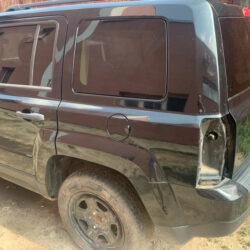 Четверть задняя левая Jeep Patriot 2010-16 чёрная