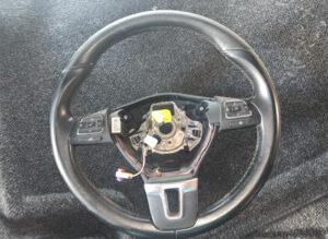 Мультируль кожаный с кнопками Passat B7 CC