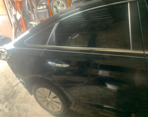 Дверь Hyundai Sonata LF Hybrid задняя правая 2015-17