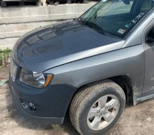 Капот Jeep Compass 2010-17 серый оригинал