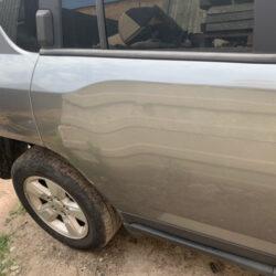 Двери задние правые Jeep Compass 2010-17 серая