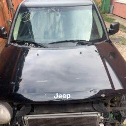 Капот Jeep Patriot 2010-16 чёрный USA дефект