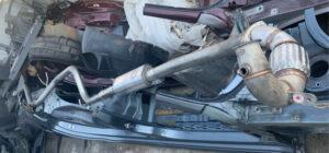 Выхлопная система Volkswagen Passat B7 2.0 дизель SEL
