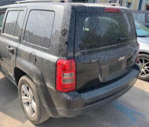 Задний бампер Jeep Patriot 2010-16 USA чёрный