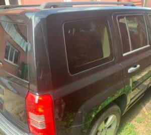 Четверть задняя правая Jeep Patriot 2010-16 чёрная
