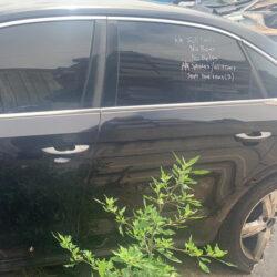 Двери задняя левая водительская Volkswagen Passat B7 чёрная