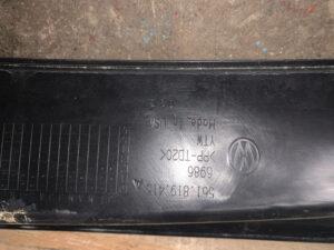 Накладка на механизм дворников жабо Volkswagen Passat b7 2010-16 561 819 415