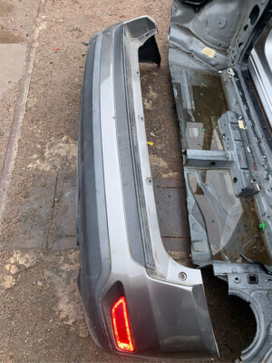 Задний бампер в сборе Jeep Compass 2011-17 USA серый