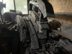 Усилитель переднего бампер Volkswagen Passat B7 2010-16 USA
