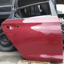 Дверь задняя правая пассажирская  Hyundai Sonata LF 2015-17 красная