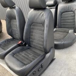 Салон сидения кожа алькантара VW Passat SEL B7-B8 40000 миль